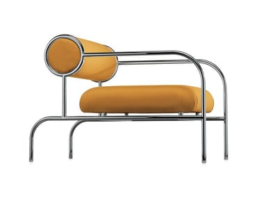Armchair with tubular metal structure SOFA WITH ARMS