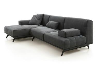 PROMENADE   Divano con chaise longue By Wiener GTV Design design ...