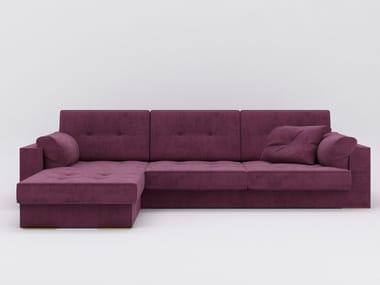 Fabric sofa with chaise longue ZULU   Sofa