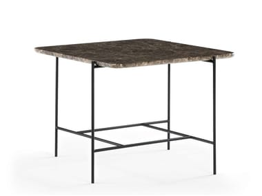 Square marble coffee table SOFIA | Marble coffee table