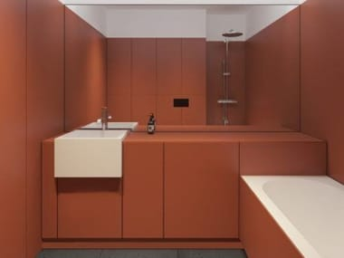 Ecologic resin wall/floor tiles SOFT SKIN