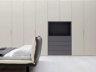 GRAFIK | Armadio con TV integrata By Caccaro design Sandi Renko
