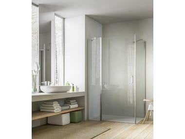 Box doccia in cristallo con porte pivotanti in vendita archiproducts