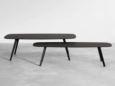 Rectangular Fenix-NTM® coffee table SOLAPA | Fenix-NTM® coffee table