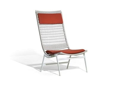 Rope garden armchair SOLARIA | Garden armchair