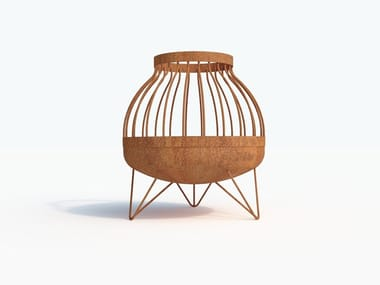 Carbon steel fire baskets SOMMA
