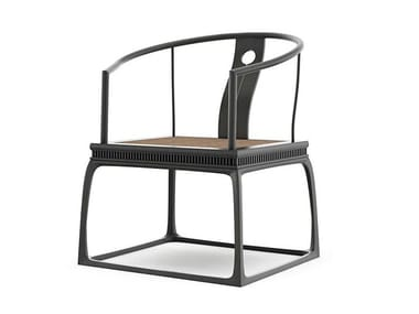 Padouk chair with armrests SONG STYLE | Chair