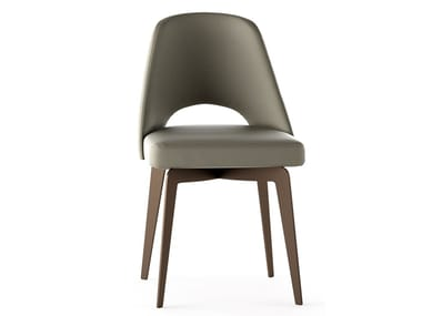 Eco-leather chair with armrests SONY