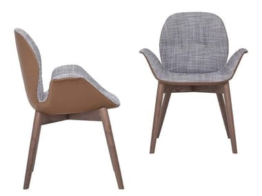 Fabric chair with armrests SORRENTO ÈSPRIT | Chair with armrests