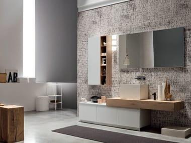 Sistema bagno componibile SOUL - COMPOSIZIONE 02