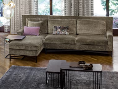 Fabric sofa with chaise longue SP2802 | Sofa with chaise longue