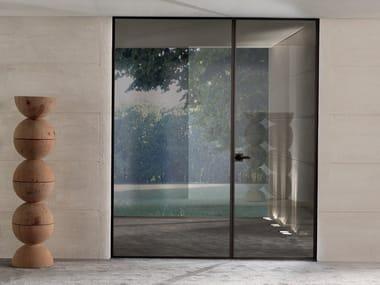 Hinged glass door SPARK | Glass door