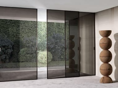 Glass sliding door SPARK | Sliding door