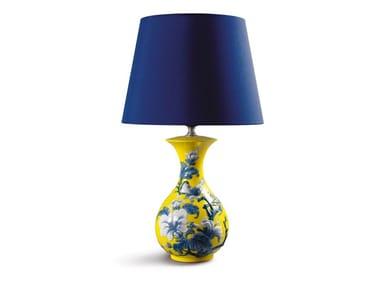 Lampada da tavolo in porcellana SPARROW GIALLO