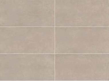 Revêtement de sol/mur en grès cérame pleine masse effet résine SPATULA Lino