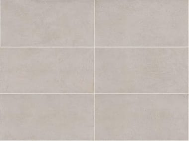 Full-body porcelain stoneware wall/floor tiles with resin effect SPATULA  Perla