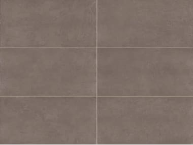 Full-body porcelain stoneware wall/floor tiles with resin effect SPATULA Tabacco
