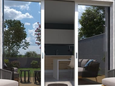 Pellicola per vetri a controllo solare adesiva SPECCHIATA 015