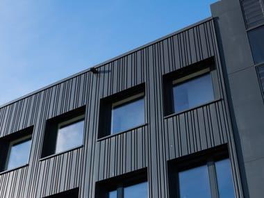 Elementi piani e grecati per facciata ventilata SPECIAL PANEL BEMO