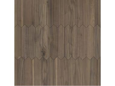 Pavimento/rivestimento intarsiato in legno per interni MODULO SPECIALE MATITA POSA 100