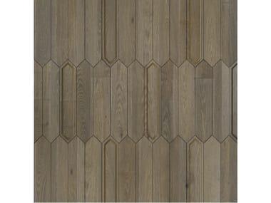 Pavimento/rivestimento intarsiato in legno per interni MODULO SPECIALE MATITA POSA 110