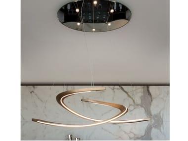 Lámpara colgante LED de metal SPEEDFORM