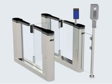 Turnstile with integrated infection control solutions SPEEDSTILE FL