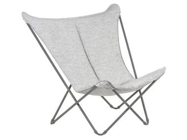 High-back Sunbrella® armchair SPHINX TUNDRA