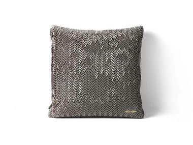 Square fabric cushion SPIGA