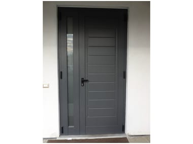 Aluminium armoured door panel SPIGA/KG