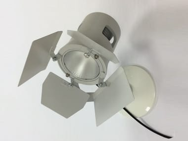 LED Moving Head wall-mounted aluminium SPOT LED SP