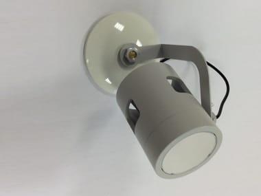 LED Moving Head wall-mounted aluminium SPOT LED SS