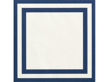 Glazed stoneware wall/floor tiles SQUARE BLUE