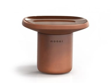Low square ceramic coffee table OBON   Square coffee table