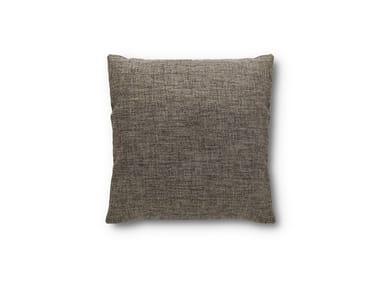 Solid-color square fabric cushion Square cushion