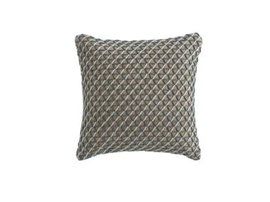 Square jute cushion RAW | Square cushion
