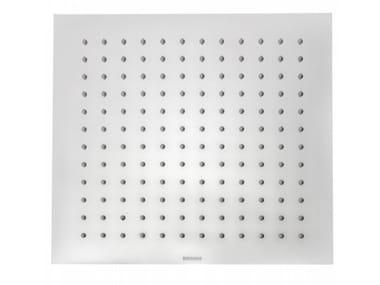 Square stainless steel overhead shower TETIS | Square overhead shower