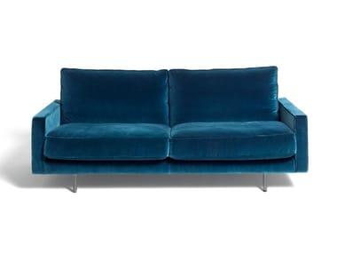 2 seater velvet sofa SQUARE TRADITIONAL