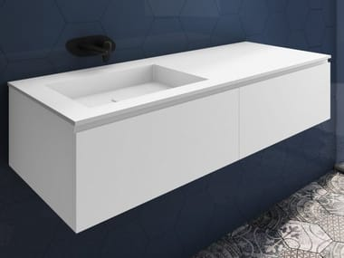 Vanity unit with drawers SQUARE | Vanity unit