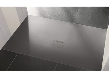 Quaryl® shower tray SQUARO INFINITY