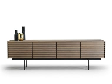 Wooden sideboard with doors SSX411 | Sideboard with doors