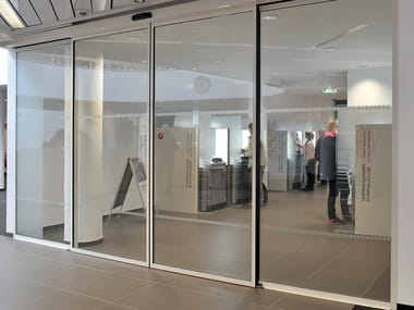 Glass Automatic entry door ST FLEX