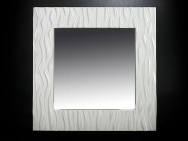 Wall-mounted framed hall mirror ST. MARTIN