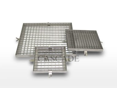 Accessory for fountain Stainless steel grills