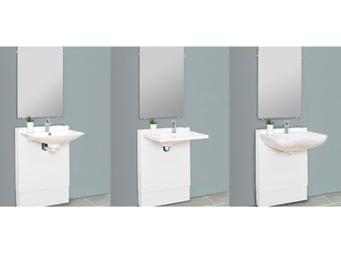 Height Adjustable Washbasin For Disabled Standard By Ropox