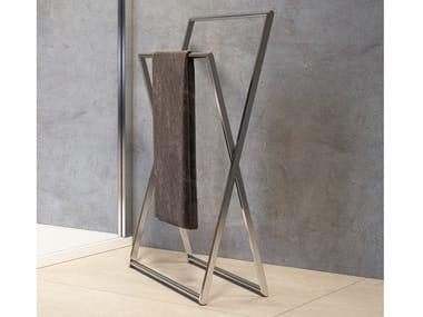 Porta asciugamani da terra in acciaio inox Porta asciugamani da terra