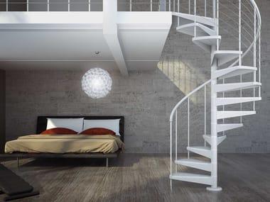 Modular steel Spiral staircase STAR FX