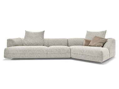 Sectional 3 seater fabric sofa STARMAN | Sectional sofa