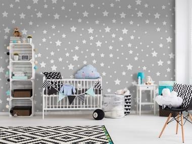 Adhesive washable wallpaper STARS
