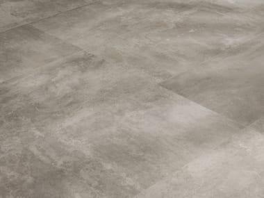 Indoor/outdoor porcelain stoneware wall/floor tiles STATALE 9 GRIGIO